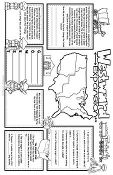 Westward Expansion Organizers : 11x17 BIG Placemat Organizers