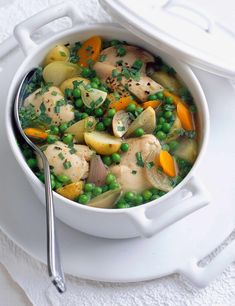 Very quick chicken casserole We know you love this classic olive recipe. A great one-pot dish, our quick and easy chicken casserole makes a delicious mid-week meal that is really hearty and comforting. Saves on the washing up, too!
