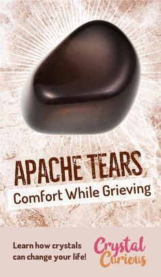 Apache Tears are comforting & grounding as you heal from grief and trauma. Learn more about healing crystals and gemstones.