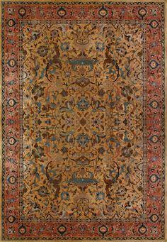 Antique Tabriz Rug - 110107 - First Rugs Iranian Rugs, Iranian Art, Persian Carpet, Persian Rug, Tabriz Rug, Prayer Rug, Traditional Rugs, Kilim Rugs, Oriental Rug