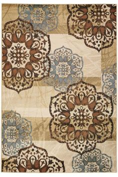 $399 Delicate Area Rug - Transitional Rugs - Synthetic Rugs - Rugs | HomeDecorators.com