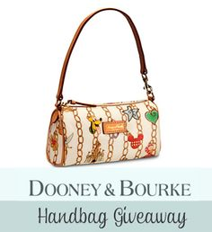 Dooney & Bourke Disney Parks Charms Barrel Bag Giveaway at Focused on the Magic , #giveaway,  #Disney