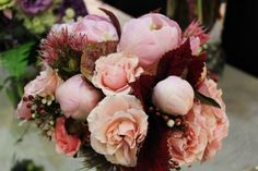 Pink and Red, Peonies and Roses | Flowers by Tami McAllister