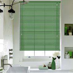 Green Matt Lifestyle Venetian blinds