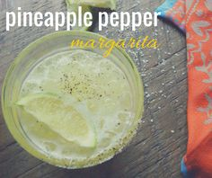 Pineapple Pepper Margarita | eat.drink.frolic.