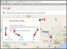 como localizar un celular android robado por gps