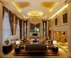 45+ Enchanting Living Room Design Ideas For Luxurious Home