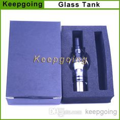 Wholesale Electronic Cigarette - Buy Glass Tank Atomizers Electronic Cigarette Glass Globe Set Dry Herb Vaporizer Clearomizer E Cigarette With Retail Box For EGo EVOD Battery, $3.82 | DHgate