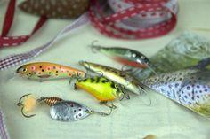 Prezent do 250 zł - zestaw unikalnych przynęt handmade dla wędkarza łowiącego w rzece, jeziorze lub podlodowo. #wędkarstwo #zestawy #prezenty #przynęty #handmade #rękodzieło Fish, Pisces