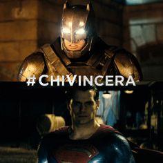 Bruce sbaglia a scagliarsi contro Clark...pertanto sostengo #Superman (ma tra i due il mio preferito rimane Batman)