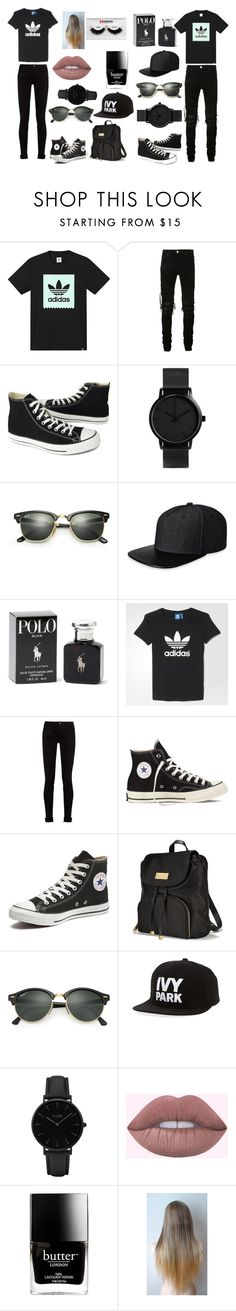 """""""Couples goals"""" by ghetaudorina on Polyvore featuring adidas, AMIRI, Converse, Ray-Ban, Gents, Ralph Lauren, Gucci, Victoria's Secret, Ivy Park and CLUSE"""