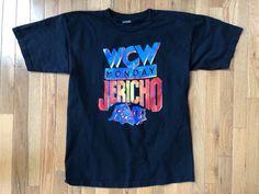 MONDAY NIGHT CHRIS JERICHO T-Shirt 90s Large Y2J WCW ECW WWF WWE Wrestling - http://bestsellerlist.co.uk/monday-night-chris-jericho-t-shirt-90s-large-y2j-wcw-ecw-wwf-wwe-wrestling/