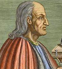 San Anselmo de Canterbury O.S.B. (Aosta, 1033 - Canterbury, 1109). Se le conoce también como Anselmo de Aosta, por el lugar donde nació, o Anselmo de Bec, si se atiende a la población donde estaba enclavado el monasterio del cual llegó a ser prior. Fue un monje benedictino que fungió como arzobispo de Canterbury durante el periodo 1093-1109. Destacó como teólogo y filósofo escolástico. Doctor de la Iglesia.