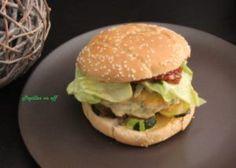 Burger au poulet et légumes au thermomix ou sans – Papilles On Off