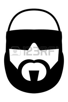 Afro Man Stock Vector