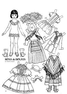 Barbie paper doll and coloring book / missmissypaperdolls