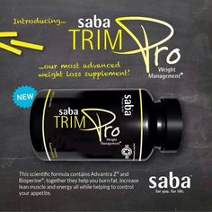 The newest product Saba offers for weightloss and IT WORKS!! www.leslielazenby.sababuilder.com click on products at the top and discover the new you!!