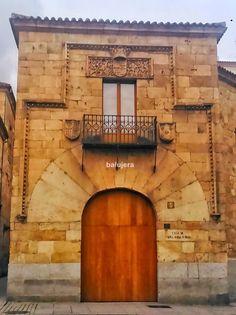 """Salamanca antigua: Casa """"María la Brava"""""""
