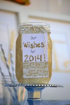 New Year's Eve Party on a Budget - Everyday Party Magazine Wish Jar by @Stefani Khan La Belle Parties