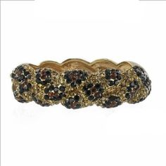 ON SALE  $28.99  Amazon.com: Leopard Swaroski Crystal & Rhinestone Hinged Metal Bangle/bracelet by Jersey Bling ships in Gift Box: Jewelry  www.jerseybling.net