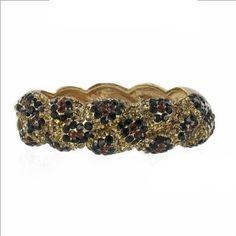 ON SALE  $28.99  Amazon.com: Leopard Swaroski Crystal & Rhinestone Hinged Metal Bangle/bracelet by Jersey Bling ships in Gift Box: Jewelry  www.jerseybling.net