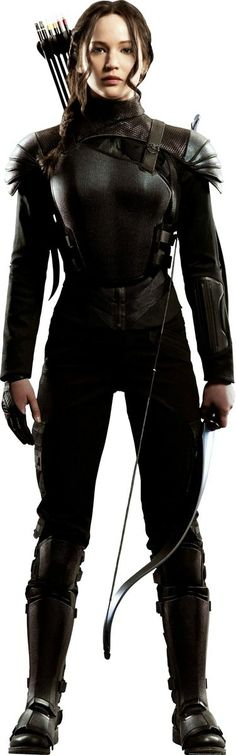 Jennifer Lawrence as Katniss Everdeen (Mockingjay) - The Hunger Games: Mockingjay