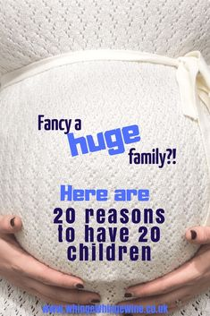 20 kids and counting: 20 legitimate and in no way completely clutching at straws reasons to have 20 children just like the Radford family. Mom Advice, Parenting Advice, Kids And Parenting, 21 Kids And Counting, Radford Family, First Time Moms, Mom Humor, Best Mom, Baby Sleep