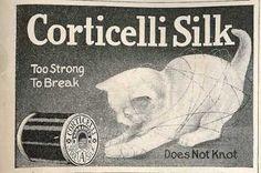 Corticelli Silk - 1910 Ad