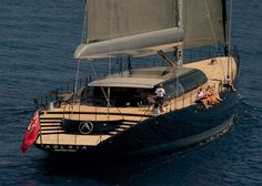 66 M Sailing Yacht Aglaia designed by Dubois Naval Architects and built by Vitters Shipyard