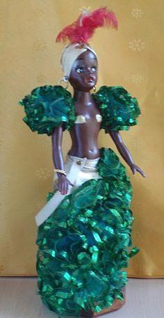 Danseuse de samba- Carnaval de Rio