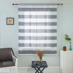 Elegant Short Roman Sheer Curtains Tie-up Shade Sheer Voile for Small Window Window Shades, Shades Blinds, Balloon Shades, Small Windows, Curtains, Kids Shower Curtain, Tie Up Curtains, White Curtains, Sheer Curtains