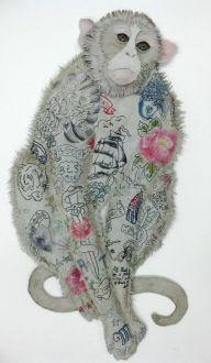 karen nicol tattoo monkey