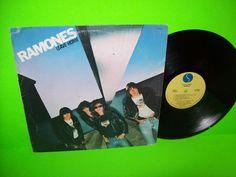 Ramones – Leave Home Vintage 1977 Vinyl LP Carbona Not Glue ORIGINAL Punk Rock…