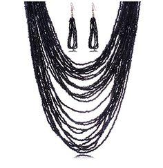 Grand Womens Seed Beads Multi-layers Necklace Bohemian Ea... http://www.amazon.com/dp/B01EYNDWZS/ref=cm_sw_r_pi_dp_s6Wjxb1N3T5HF