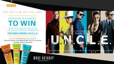 You should enter this Marc Anthony sweepstakes to see THE MAN FROM U.N.C.L.E premiere in Toronto. I think one of us could win!