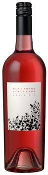 Blackbird Vineyards 2012 Arriviste Rose is a blend of 38 percent Merlot, 36 percent Cabernet Sauvignon and 26 percent Cabernet Franc