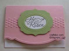 Easter Dove by craftdoc - Cards and Paper Crafts at Splitcoaststampers