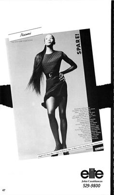 The Model Archives of Marlowe Press  Elite (New York)1987 - Click the picture for more...