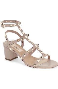 Valentino 'Rockstud' Sandal available at #Nordstrom