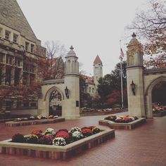 Sample Gates in the beautiful town of Bloomington, Indiana.