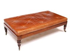 Mallams Fine Art Auctioneers (Abingdon) : A VICTORIAN MAHOGANY COUNTRY HOUSE RECTANGULAR STOOL : Online Auction Catalogue