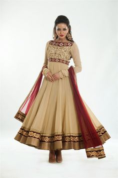 Fashion: The Royal Couture Wedding Anarkali Suits 2014