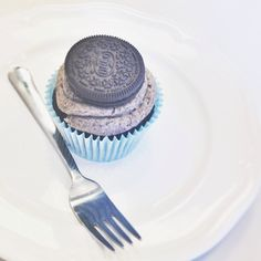 Oreo Cupcake! - @sarinski_- #webstagram #vintagebakery #vintagebakerymilano #cupcake #foodporn