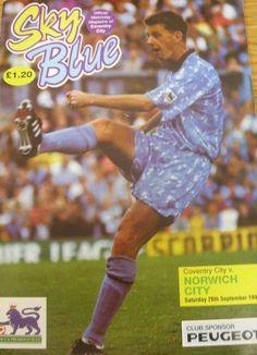26 September 1992 v Norwich City Drew 1-1
