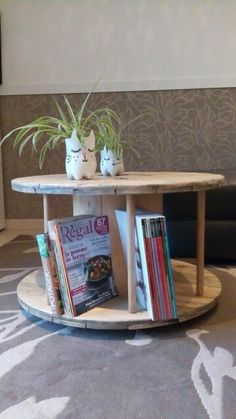 Charmant Handmade Reclaimed Wood Coffee Table/bookcase. Rustic Table With Old Steel  Saw Blade And | SPIN WHEEL IDEAS | Pinterest | Rustic Table, Wood Coffee  Tables ...