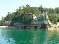 Theres A Little Known Unique Cave In #Michigan And Its Truly Enchanting!  http://www.onlyinyourstate.com/michigan/unique-cave-mi http://www.facebook.com/pages/p/169756579880411