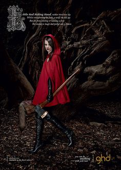 I might do a red riding hood photoshoot :)