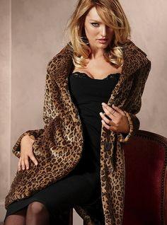 Faux-fur Coat - Victoria's Secret - StyleSays