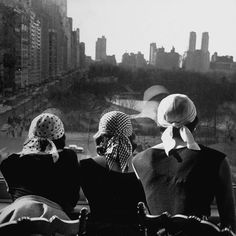 Girls wearing bandannas, looking out over Central Park. (Photo by Gordon Parks/The LIFE Picture Collection/Getty Images)Image provided by Getty Image. Gordon Parks, Glamour Photography, City Photography, Vintage Photography, Straight Photography, Fashion Photography, Modeling Photography, Lifestyle Photography, Editorial Photography