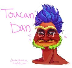 this is still my favorite monster factory. nothing beats toucan dan.